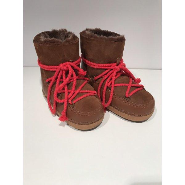 Ikki Fell Boots in Braun