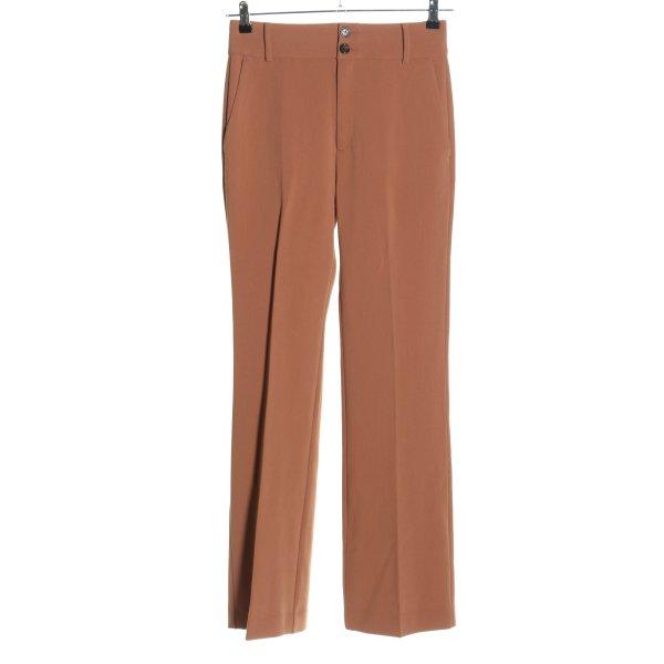 In Wear Bundfaltenhose braun Business-Look