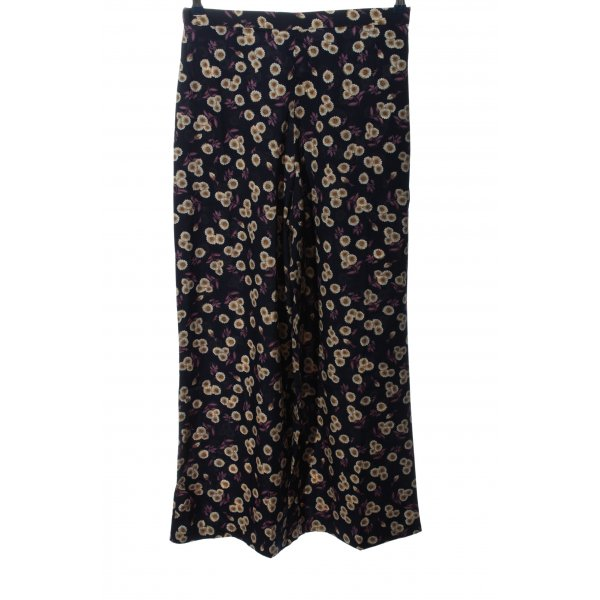 Inspire Stoffhose Allover-Druck Casual-Look
