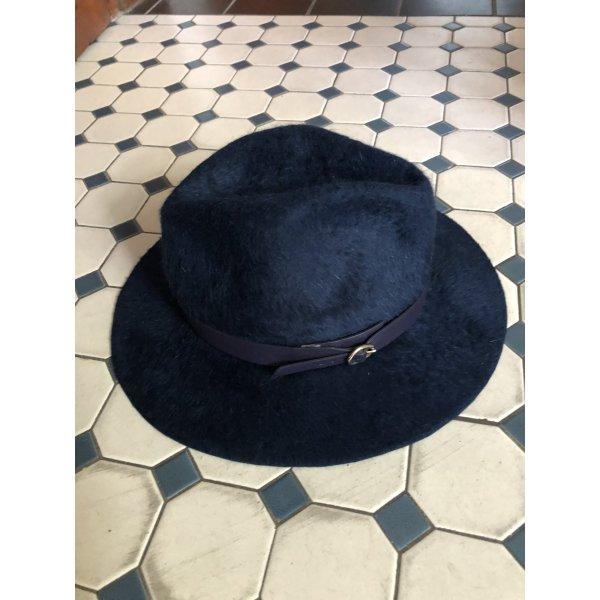 Cappello da caccia blu scuro