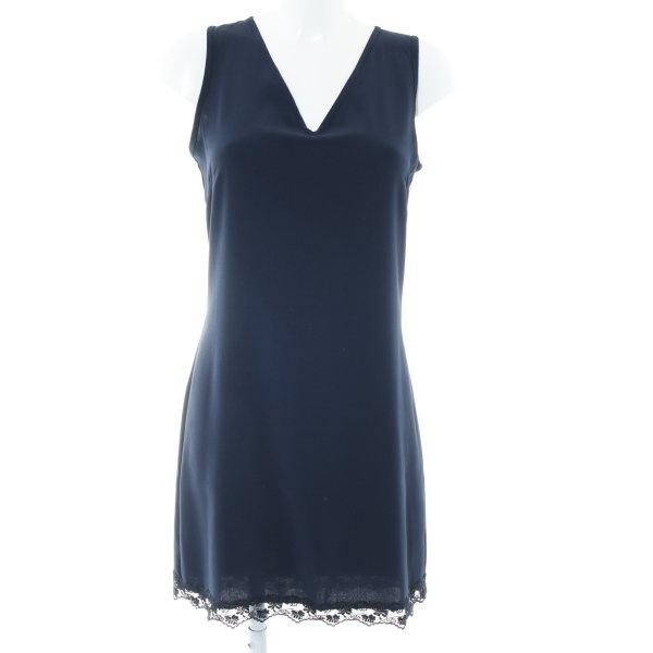 InWear schulterfreies Kleid dunkelblau Elegant