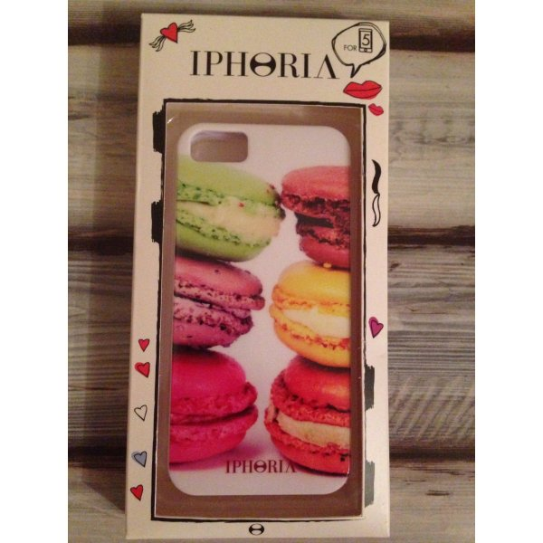 iphoria macarons handyh lle case iphone 5 m dchenflohmarkt. Black Bedroom Furniture Sets. Home Design Ideas