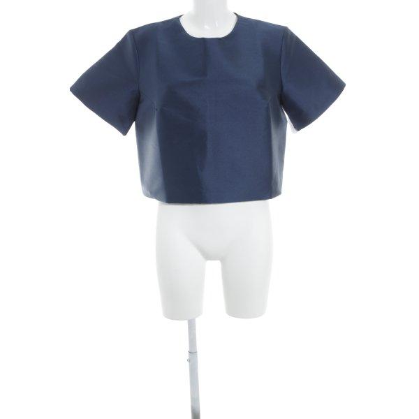 Iris & Ink T-Shirt dunkelblau Elegant