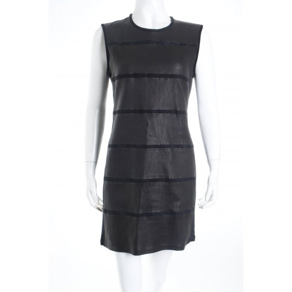Iro A-Linien Kleid schwarz schlichter Stil