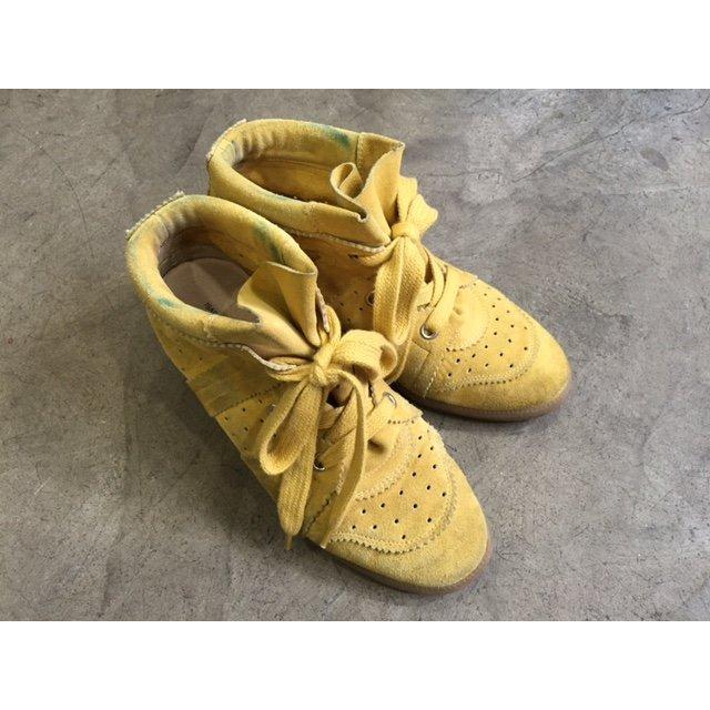 Isabel Marant Stivaletto giallo scuro Pelle