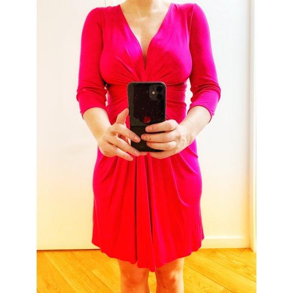 ISSA London Kleid Seide Silk Pink Gr. UK 12 / EU 40