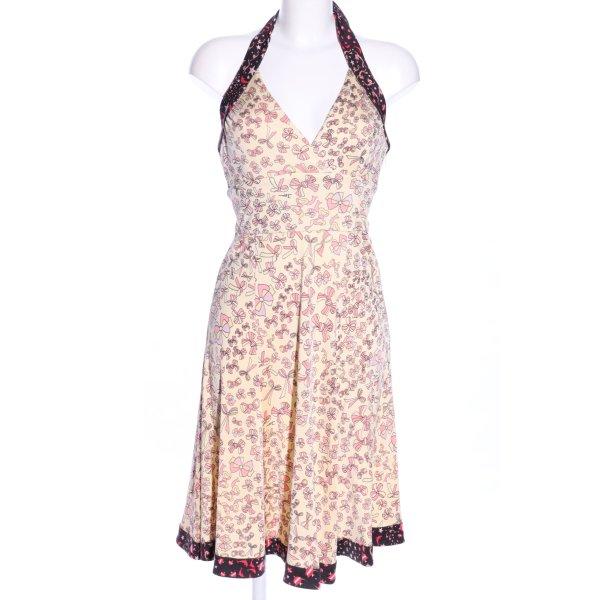 Issa London schulterfreies Kleid Allover-Druck Casual-Look