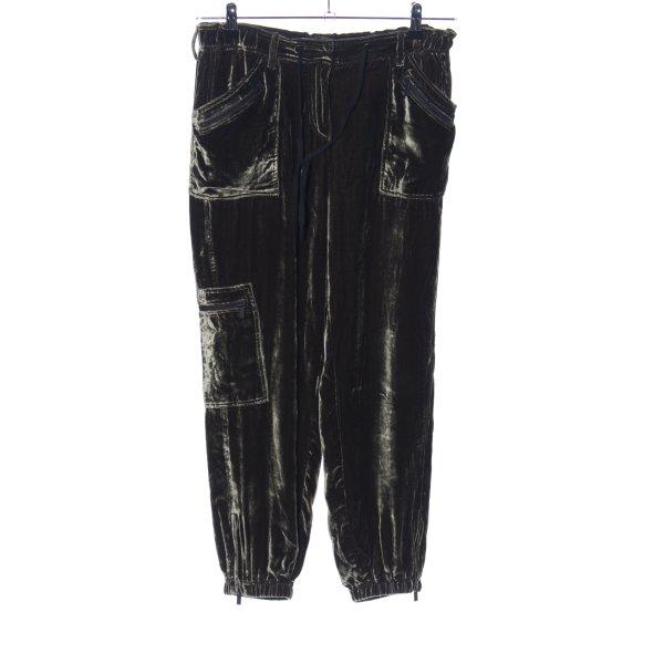 Ivi collection Baggy Pants schwarz Farbverlauf Casual-Look