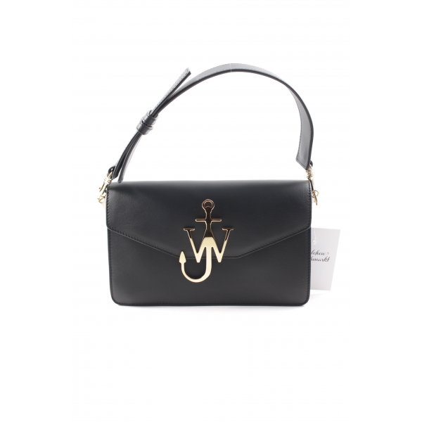 """J.w.anderson Carry Bag """"Logo Purse With Chain Black"""""""