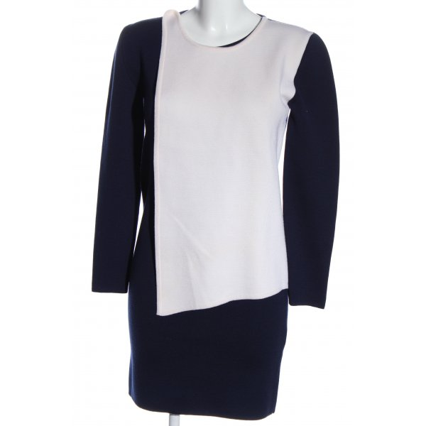 J.w.anderson Sweater Dress blue-white casual look