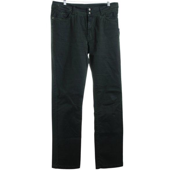 Jacky-O Hose dunkelgrün Casual-Look