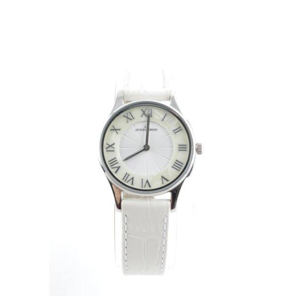 Jacques Lemans Uhr mit Lederarmband mehrfarbig schlichter Stil