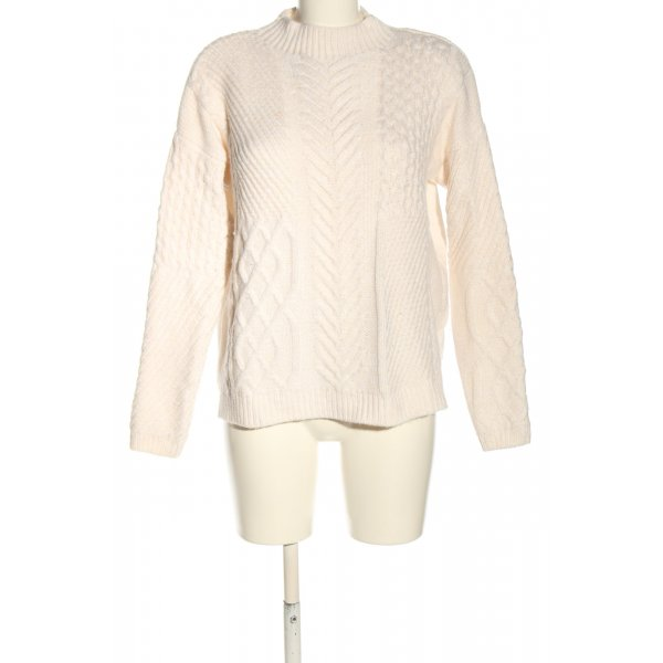 Jake*s Strickpullover creme Casual-Look