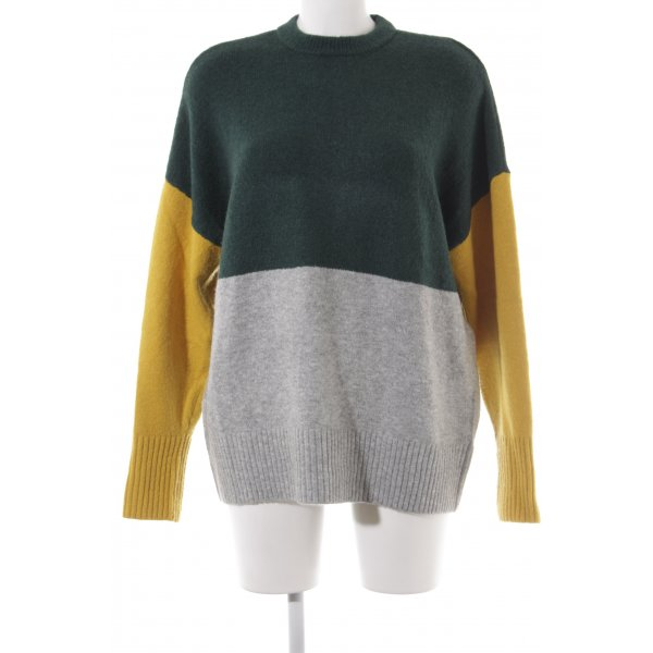 Jake*s Wollpullover Colourblocking Casual-Look