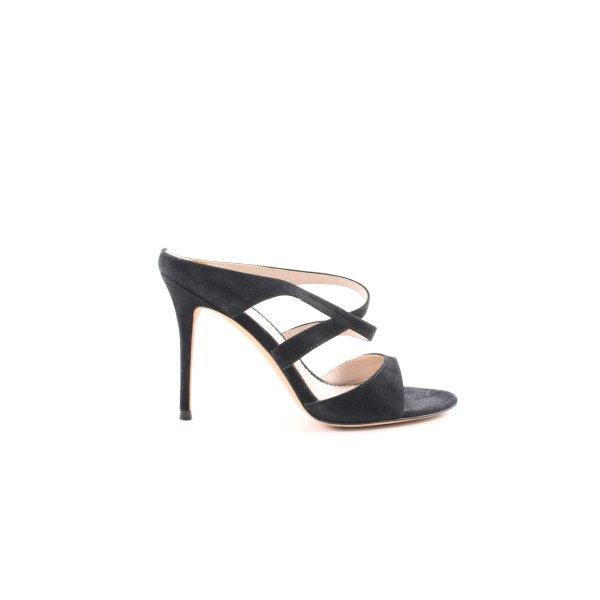 Jean-Michel Cazabat High Heel Sandaletten schwarz Casual-Look