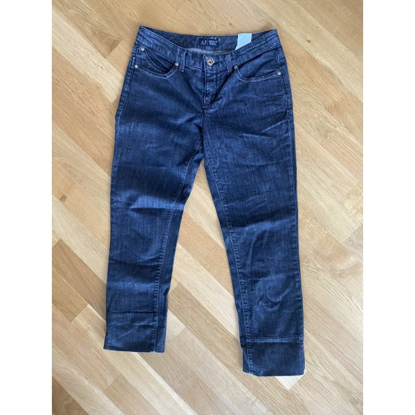 Jeans Armani S 26 grau schwarz
