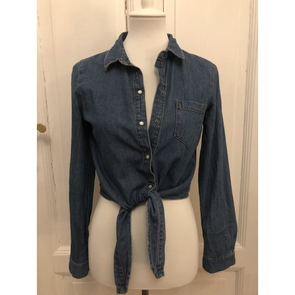 Jeans Hemd cropped