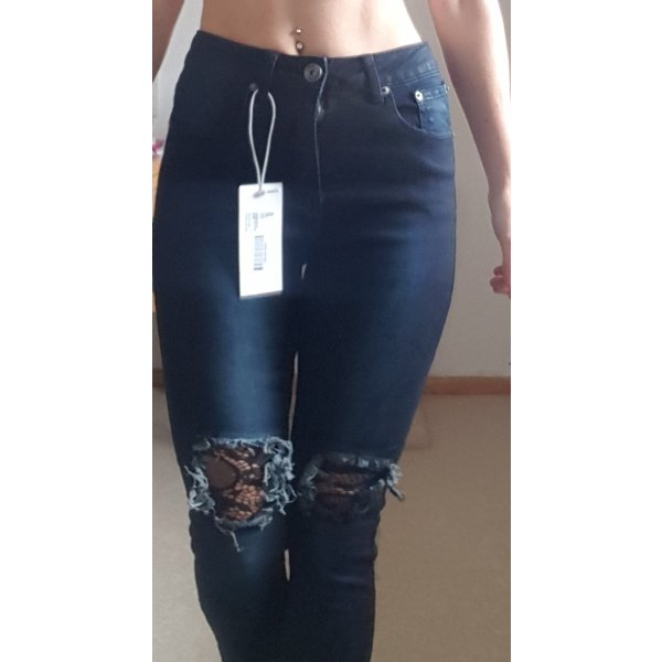 Jeans Hose schwarz Größe 36