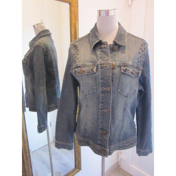 Jeans Jacke mit Details Gr 42