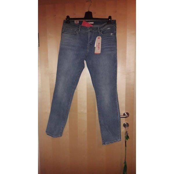 Levi's Jeans slim gris ardoise-bleu pâle