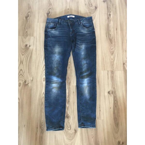 Jeans mit Waschoptik