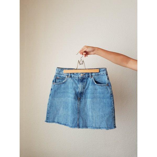 Topshop Denim Skirt multicolored