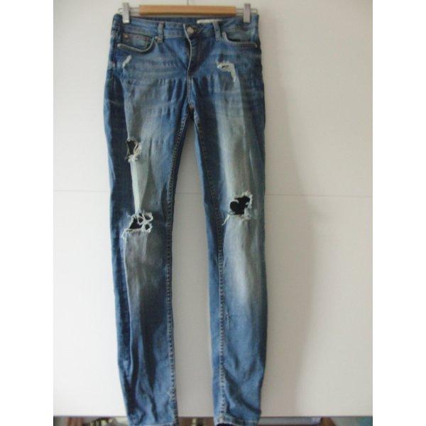 """Jeans """"Used Look"""" von Zara"""