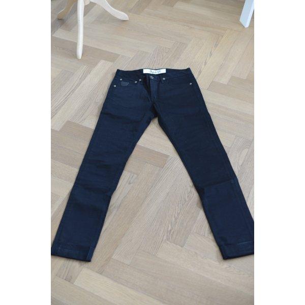 Jeans von April 77, schwarz Gr. 27