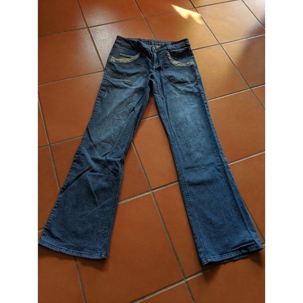 Jeans von flashlights Größe 40 langgröße 80 Stretch sehr guter Zustand used Look