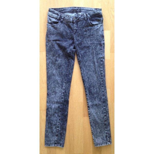 Jeans Zara Acid Wash Hipster Gr. 36