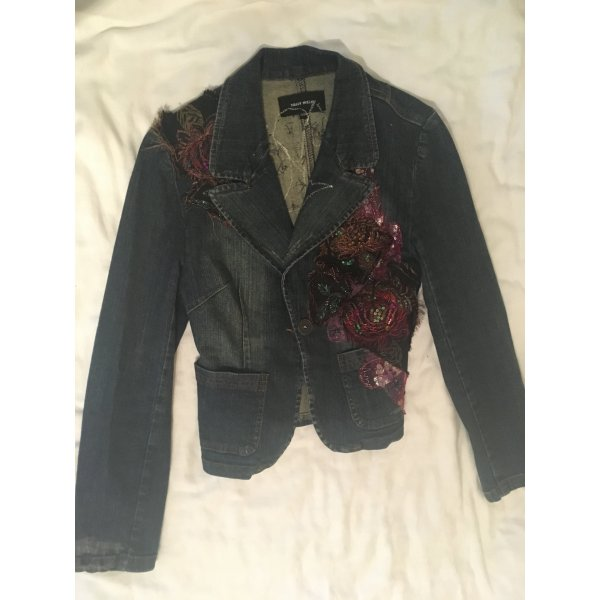 Tally Weijl Denim Blazer dark blue