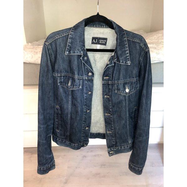 Jeansjacke Armani Jeans denim AJ dunkelblau Jacke  Vintage