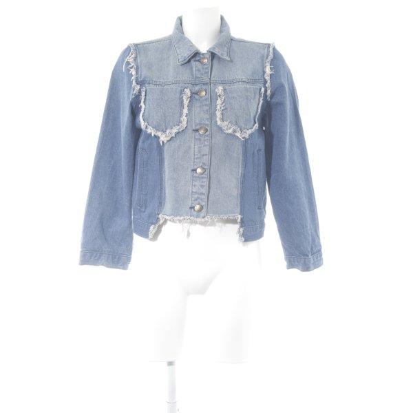 Jeansjacke blau Casual-Look
