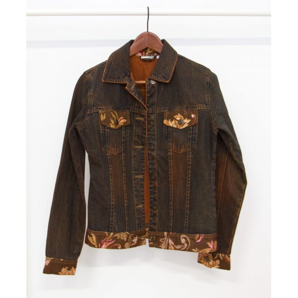 Adler Denim Jacket multicolored cotton