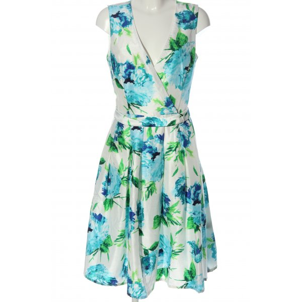 Jessica Howard A-Linien Kleid Allover-Druck Casual-Look