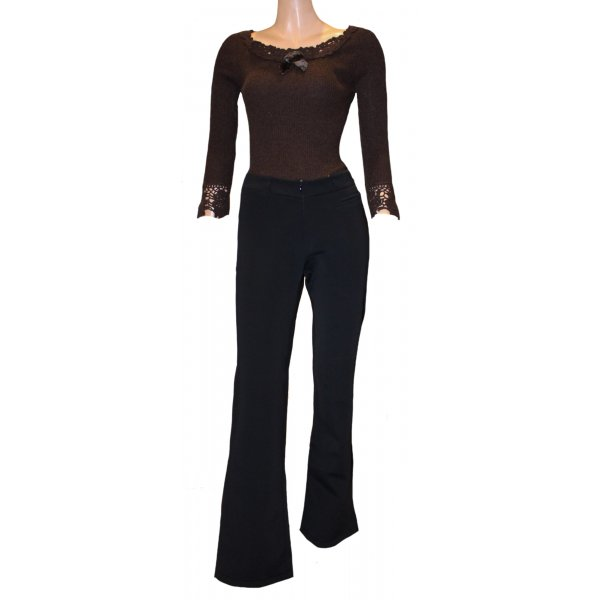 Jet Set Pantalon thermique noir polyamide