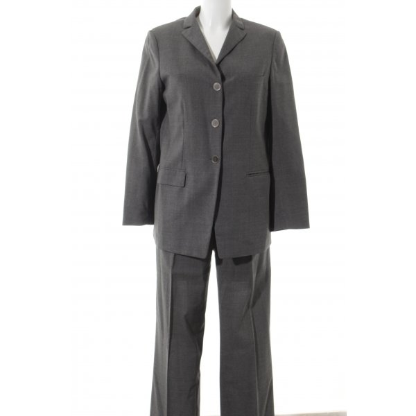 Jil Sander Hosenanzug grau Business-Look