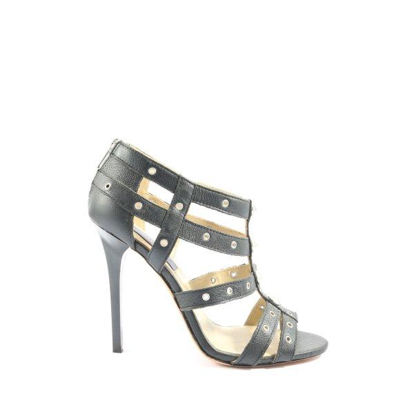 Jimmy Choo for H&M High Heel Sandaletten schwarz Elegant