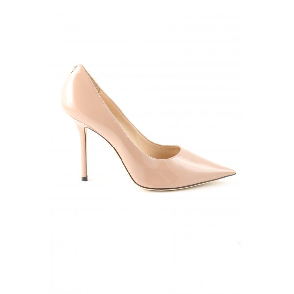 Jimmy Choo Spitz-Pumps nude Business-Look