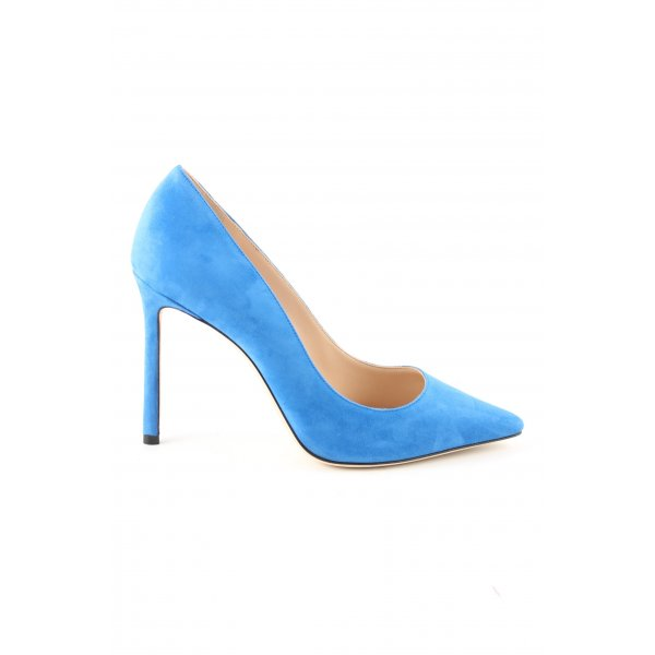 Jimmy Choo Spitz-Pumps blau Elegant