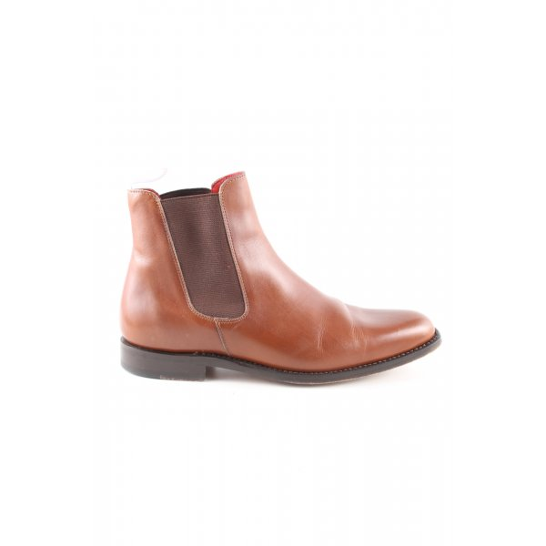 John Spencer Chelsea Boots braun Casual-Look