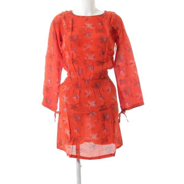 jolie jolie Minikleid rot Casual-Look