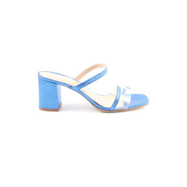 Jonak High Heel Sandaletten blau Casual-Look