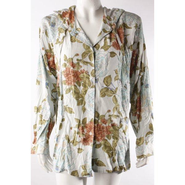 Jones Vintage-Bluse blassblau-gemustert
