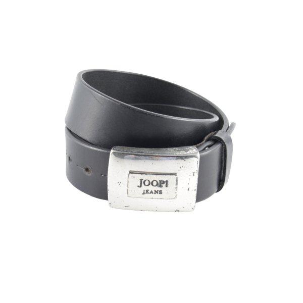 Joop! Jeans Ledergürtel dunkelbraun Country-Look