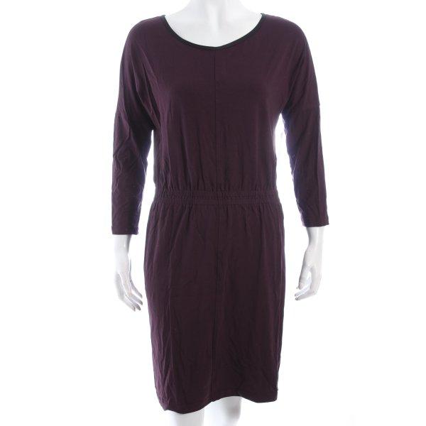 Joop! Langarmkleid purpur schlichter Stil