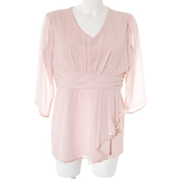 Judith Williams I love Milano Langarm-Bluse rosé Elegant