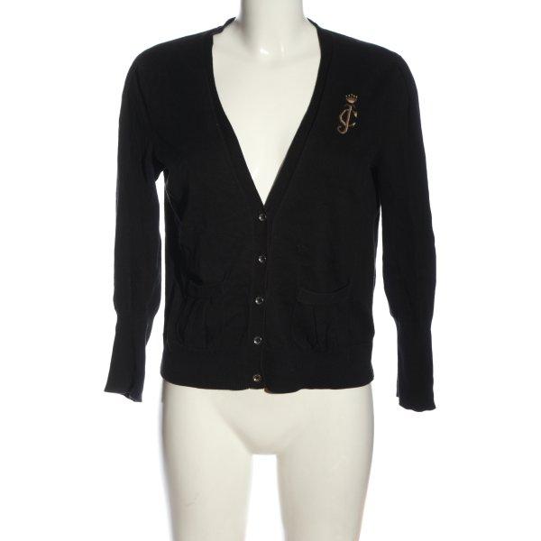 Juicy Couture Cardigan schwarz Casual-Look