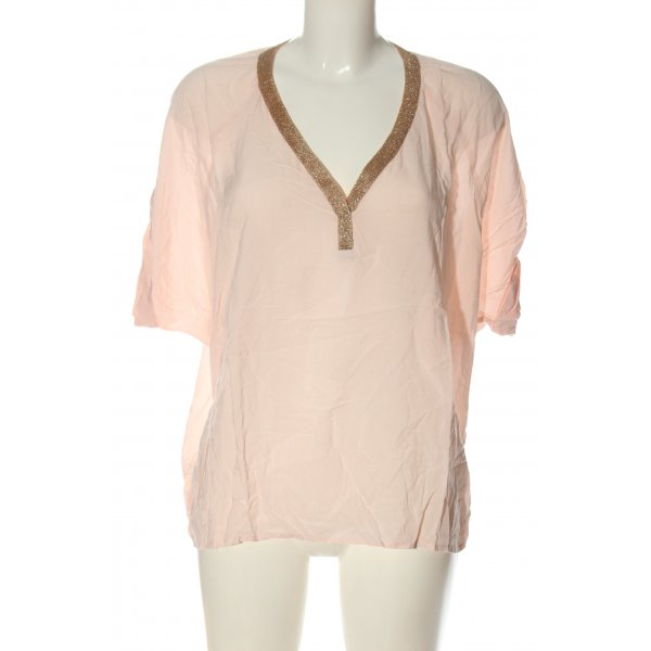 Juicy Couture Kurzarm-Bluse creme Casual-Look