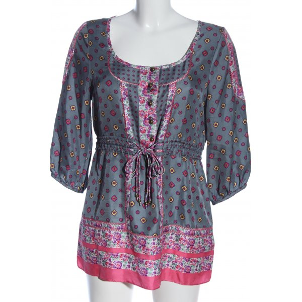 Juicy Couture Kurzarm-Bluse Blumenmuster Party-Look